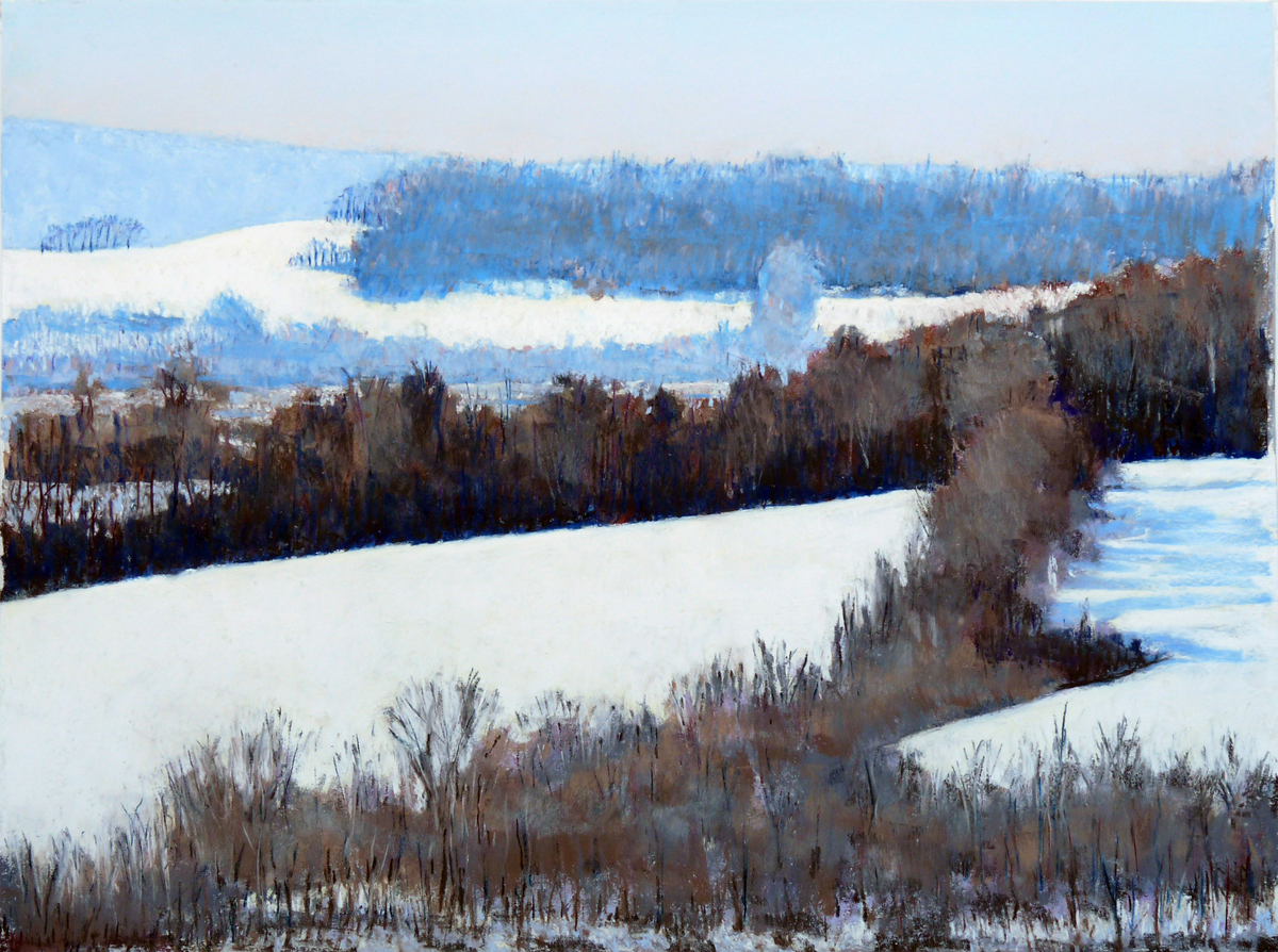 Snowy Fields (large view)