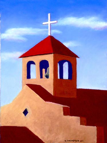 San Cristobal Church by Neil Thompson