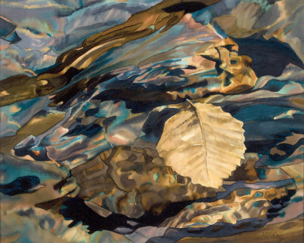 Still Life Clear Reflections, Jordan Pond at Acadia National Park (large view)