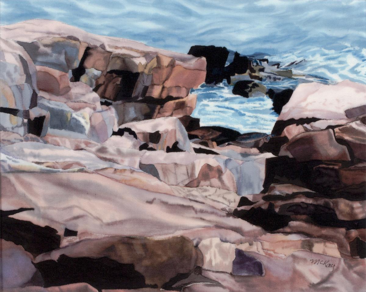 Pink Granite Shore, Mount Desert Island (large view)