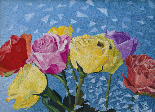 Roses on Parade by Nancy McKay