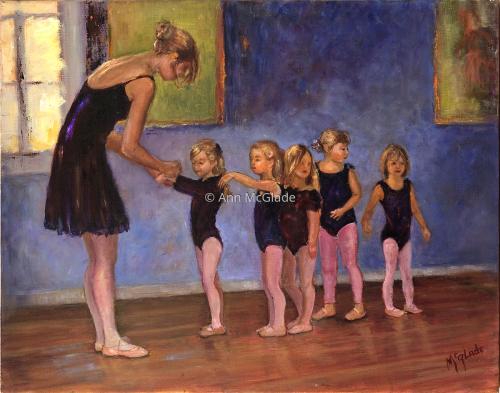 Dancer's On Line by Ann McGlade