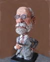 Sigmund Freud, by Steve Smith (thumbnail)