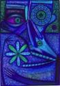 Dion Hitchings, Blue Art Tastes Good (thumbnail)