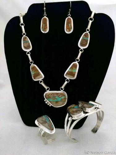 Necklace set 1 by Nelson Garcia Jewelry
