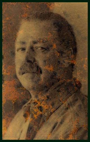 Portrait Albert Paley glass #4 (large view)