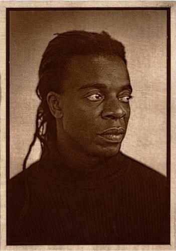 Portrait of Willie Cole, Burnt Cotton #2 by Nicolai Klimaszewski