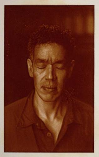 Portrait of Andres Serrano (#2) by Nicolai Klimaszewski