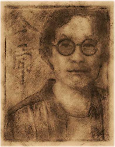 Portrait of Xu Bing (#31) by Nicolai Klimaszewski