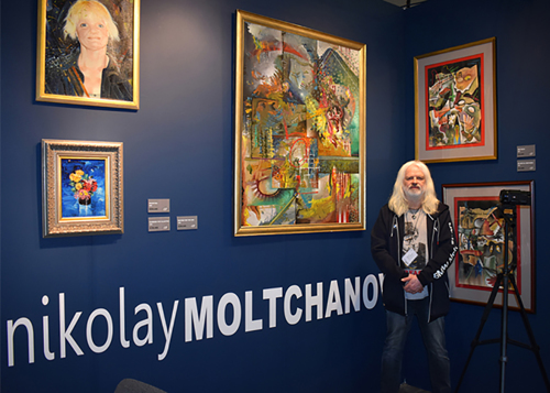 The Fine Art Superstar Nikolay Moltchanoph.