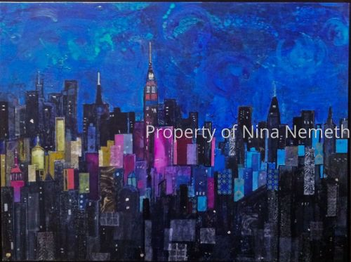 New City by Nina Nemeth