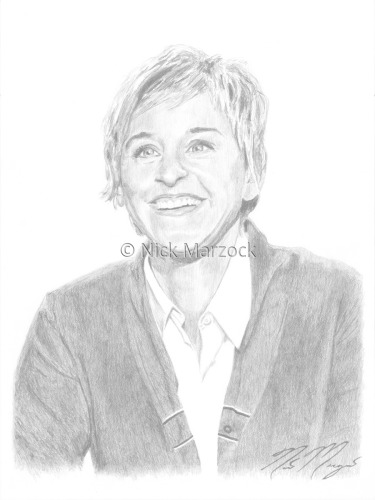 Limited Edition Print of Ellen Degeneres