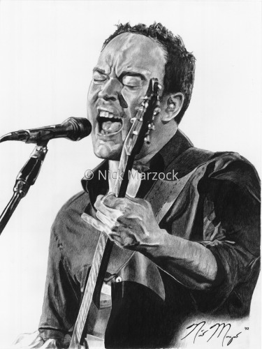 Limited Edition Print of Dave Matthews by Nick Marzock