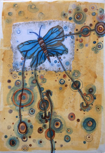 'Silver-studded Blue' Series, No. 1