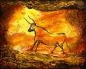 The Fourth Bull -- Homage to Lascaux (thumbnail)