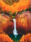 Taughannock Falls in Autumn (thumbnail)