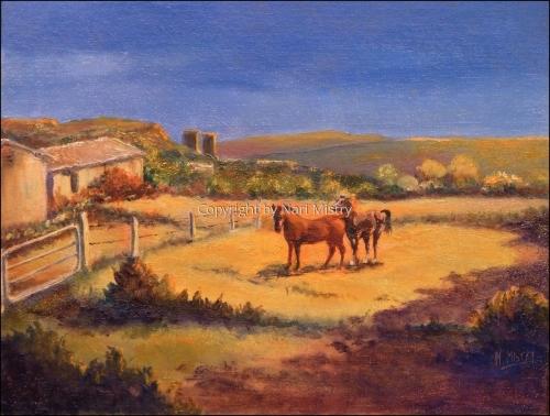 Horses, East Hill