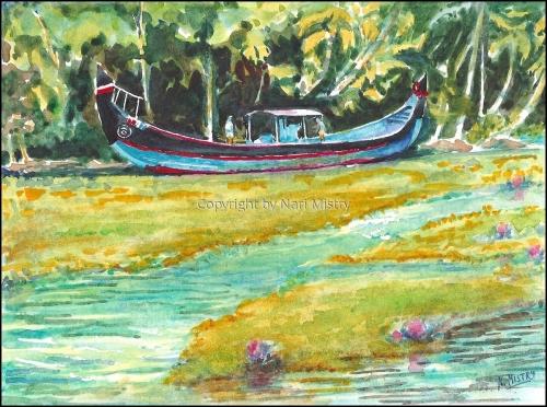 Blue Boat, Kerala