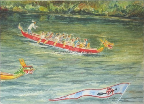 Dragonboat Festival, Ithaca