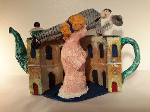 Teapot Paul Delvaux by Noi Volkov