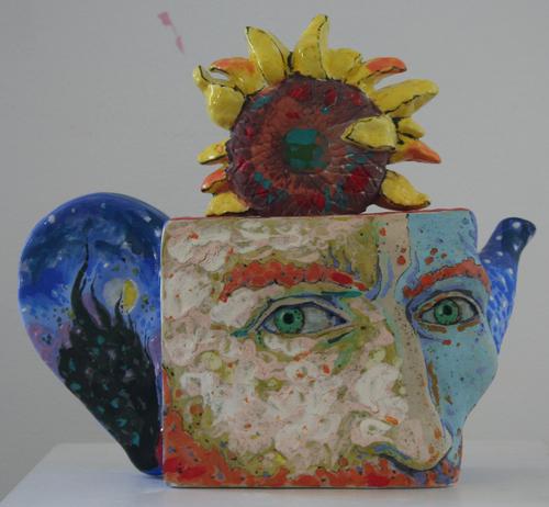 Teapot Van Gogh (large view)