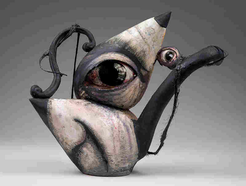 Teapot Picasso/Dali (large view)