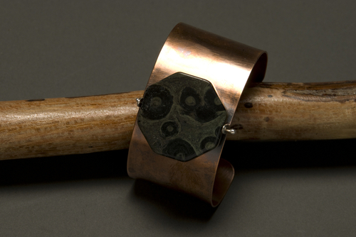 Kambaba Cuff by Pelted Head Studio