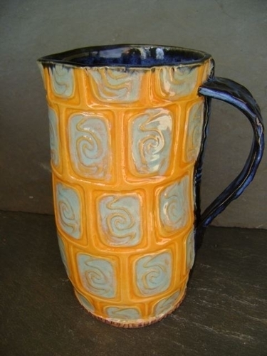 Orange Pitcher