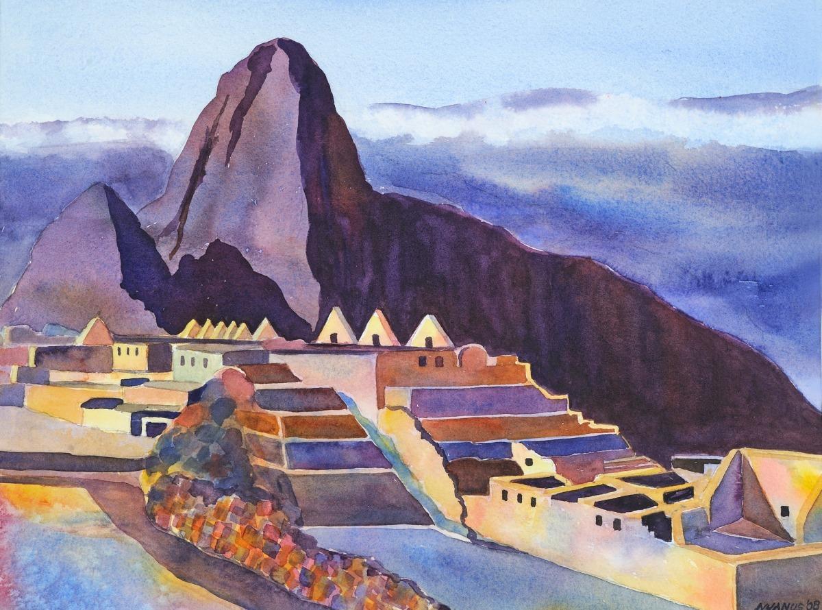 Machu Picchu Morning (large view)