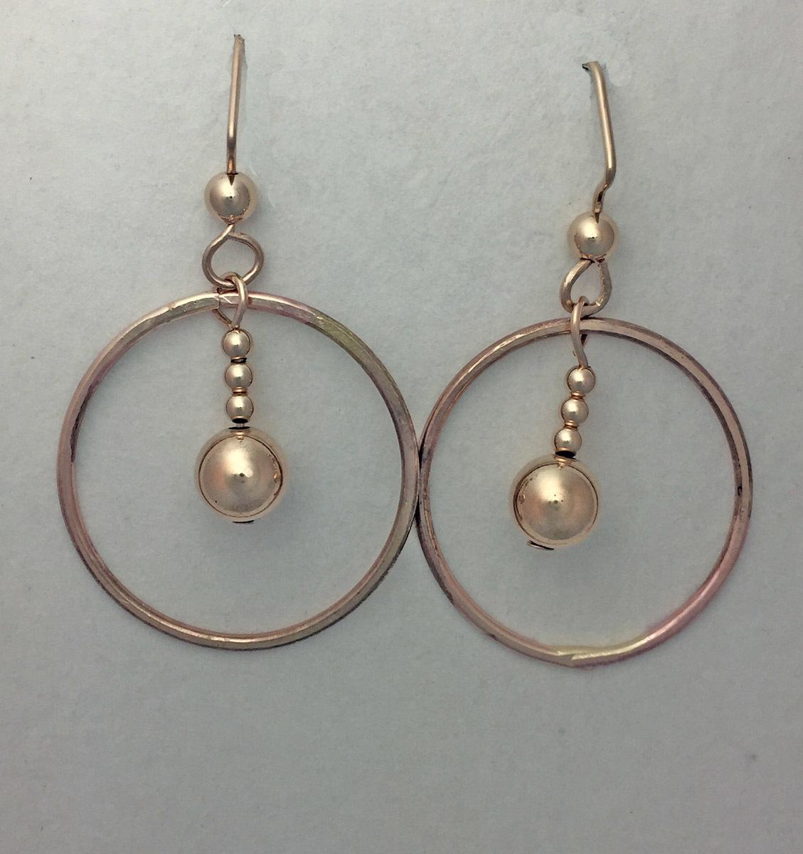 Hoop with Dangle Earrings (large view)