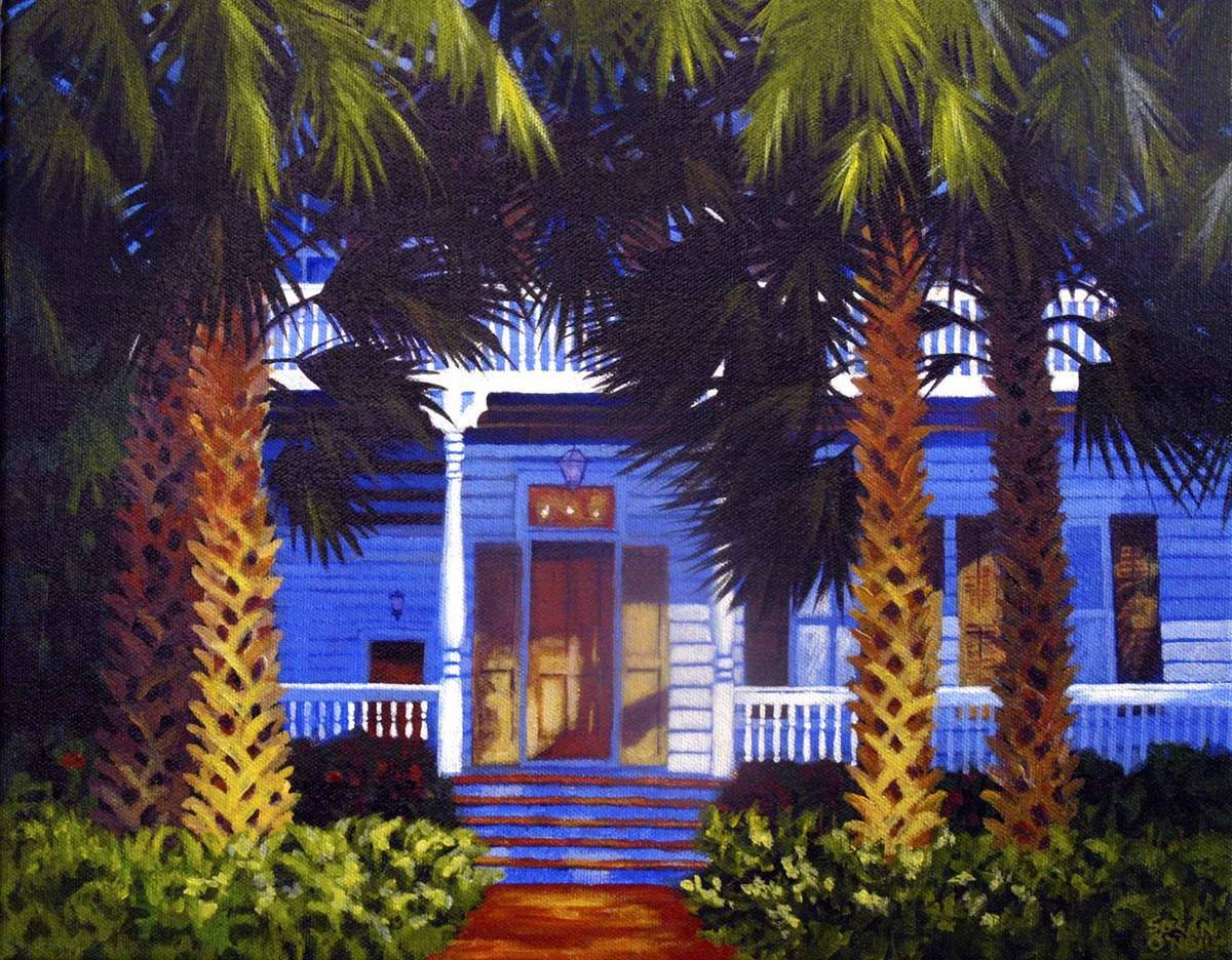 house in the palms (large view)