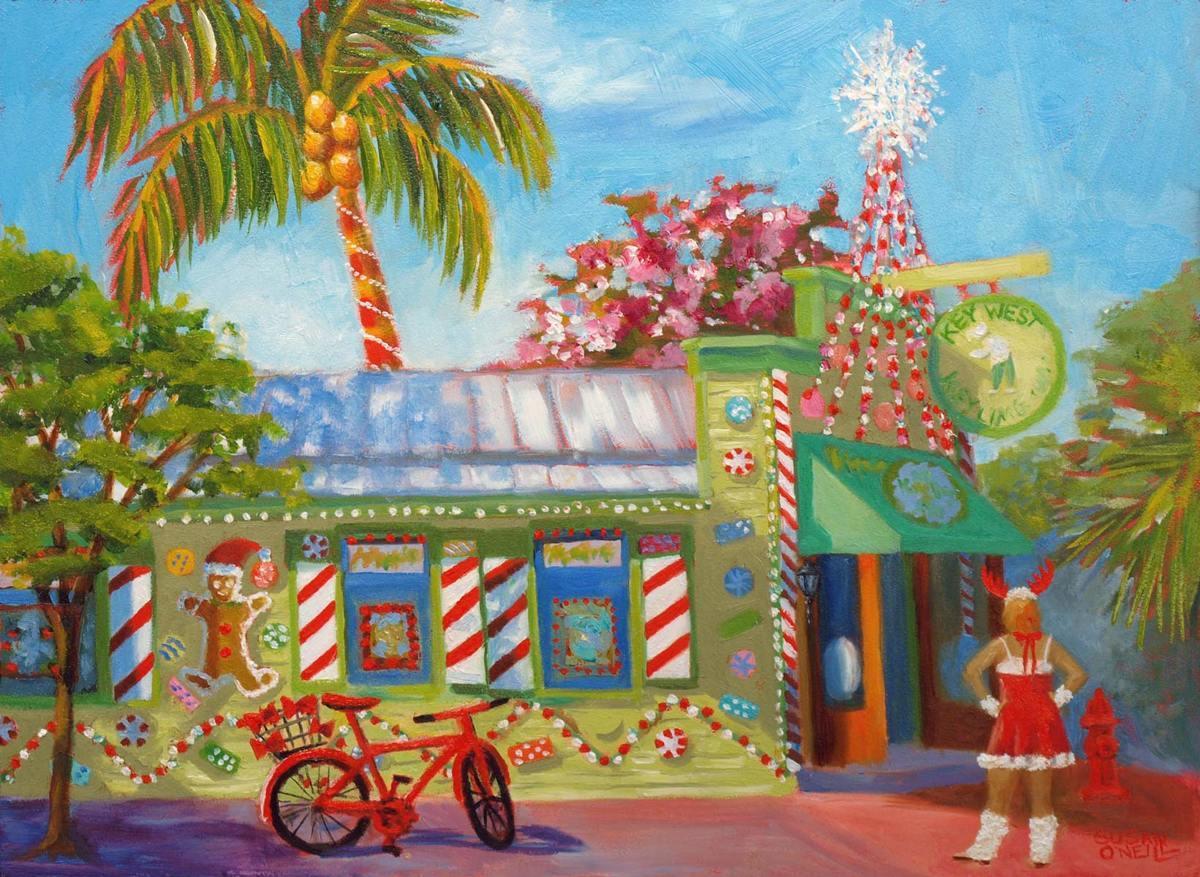 Key Lime Christmas (large view)