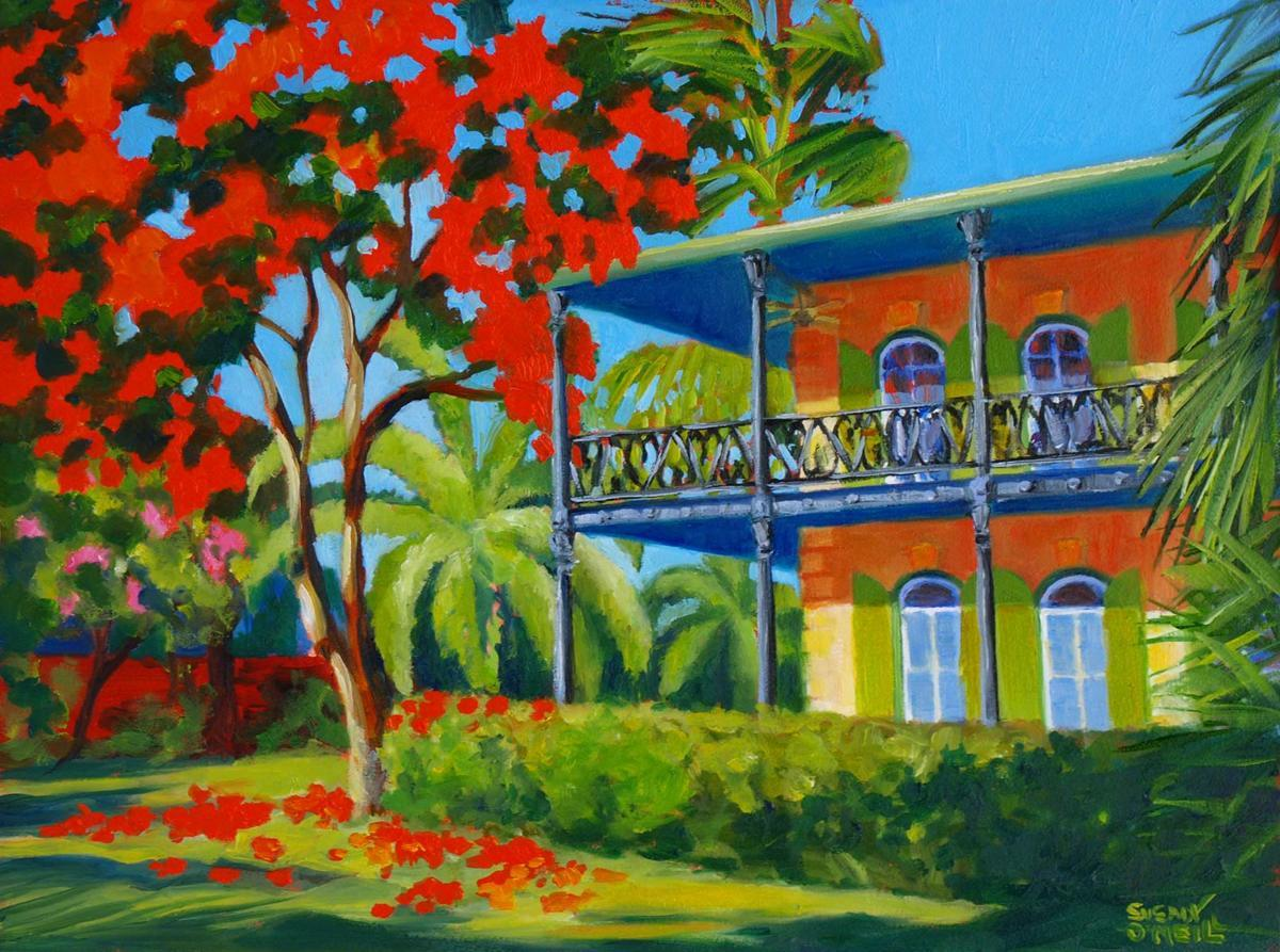January Morning, Hemingway House (large view)