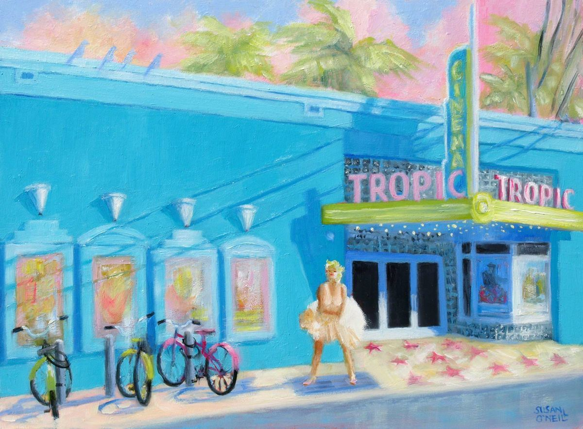 The Tropic Cinema and Marilyn (large view)
