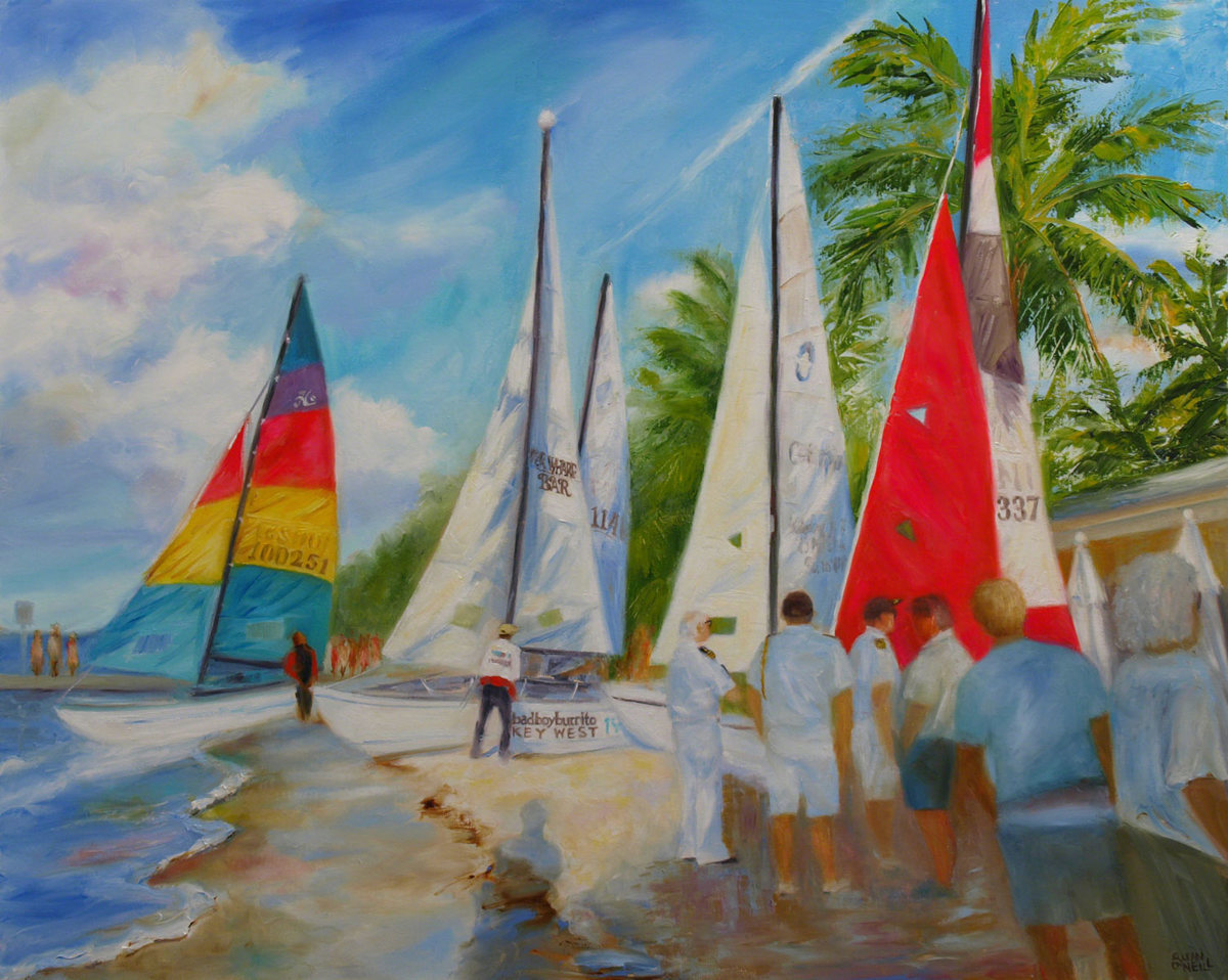 The Havana Challenge, Key West to Cuba Regatta, May 2015 (large view)
