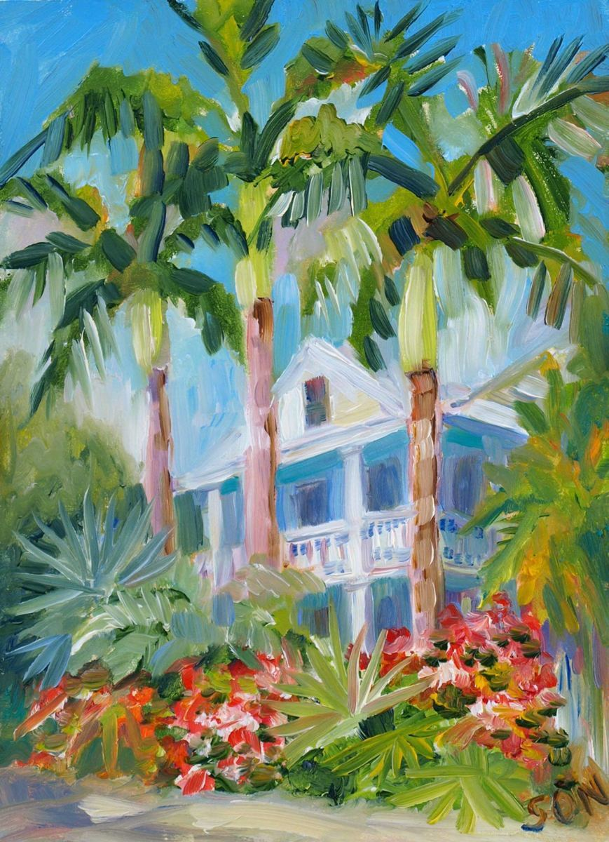House on Amelia Street, Key West (large view)