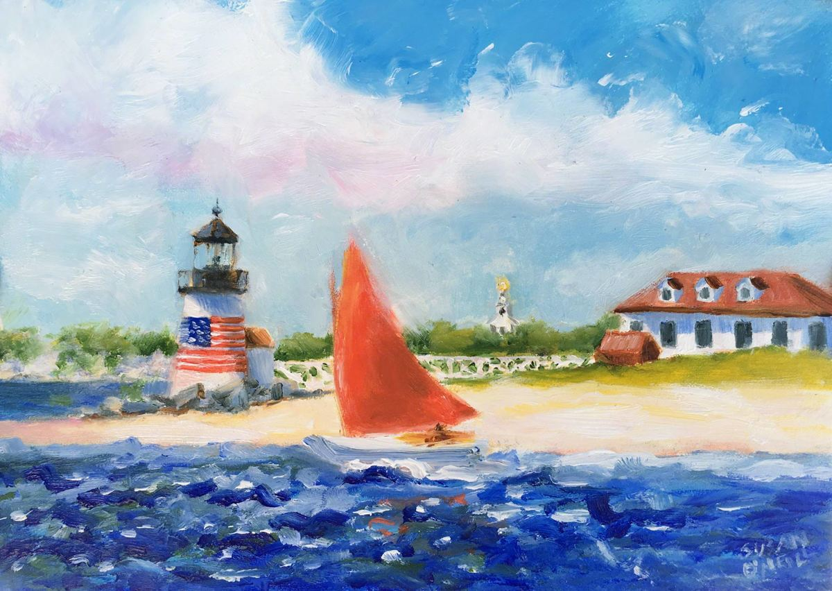 Brant Point Light (large view)