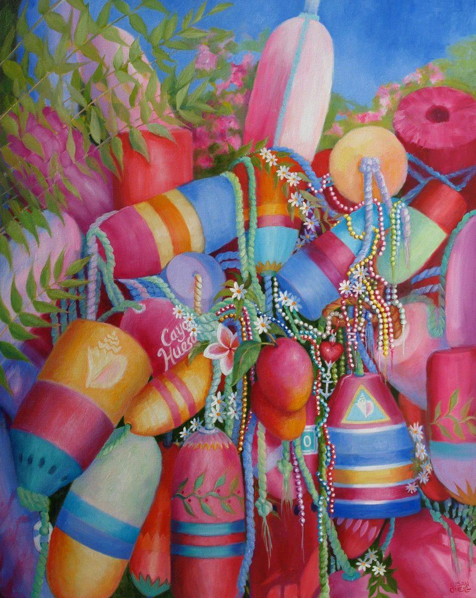 buoys, beads, & mangoes (large view)