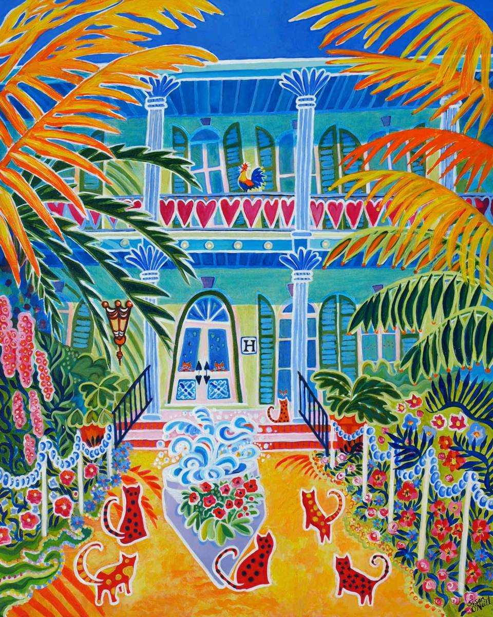 Hemingway's Garden (large view)