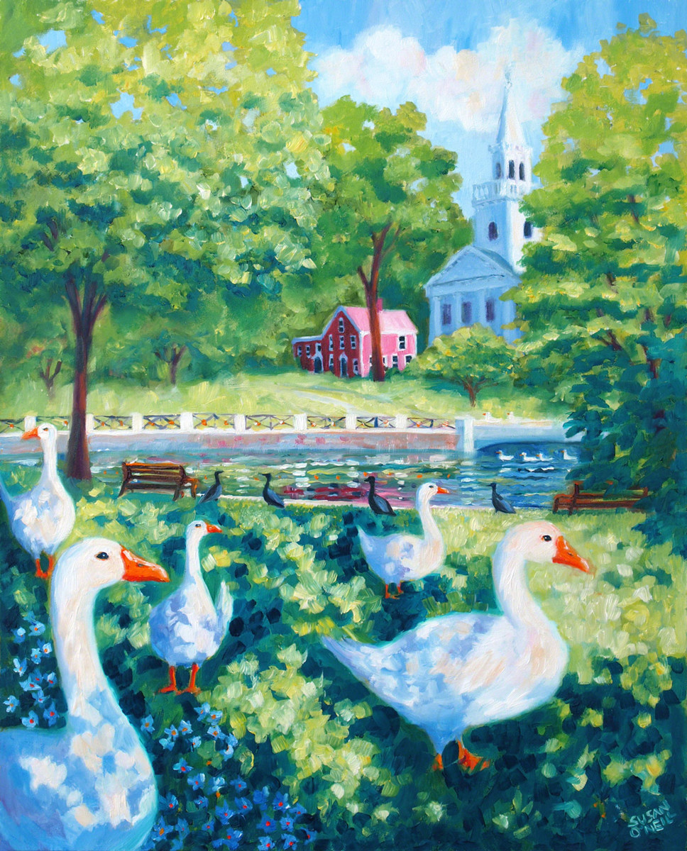 The Milford Geese (large view)