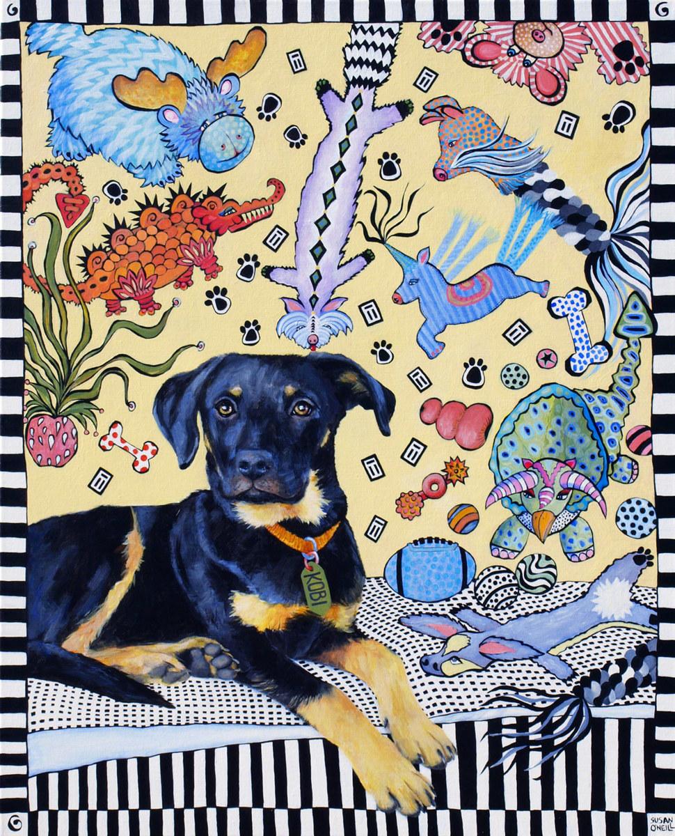 Kobi & His Pup Stuff (large view)