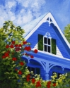 Painting--Acrylicseaside cottage