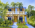 Painting--OilKey West House