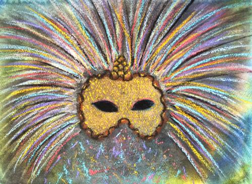 Rainbow Party Mask