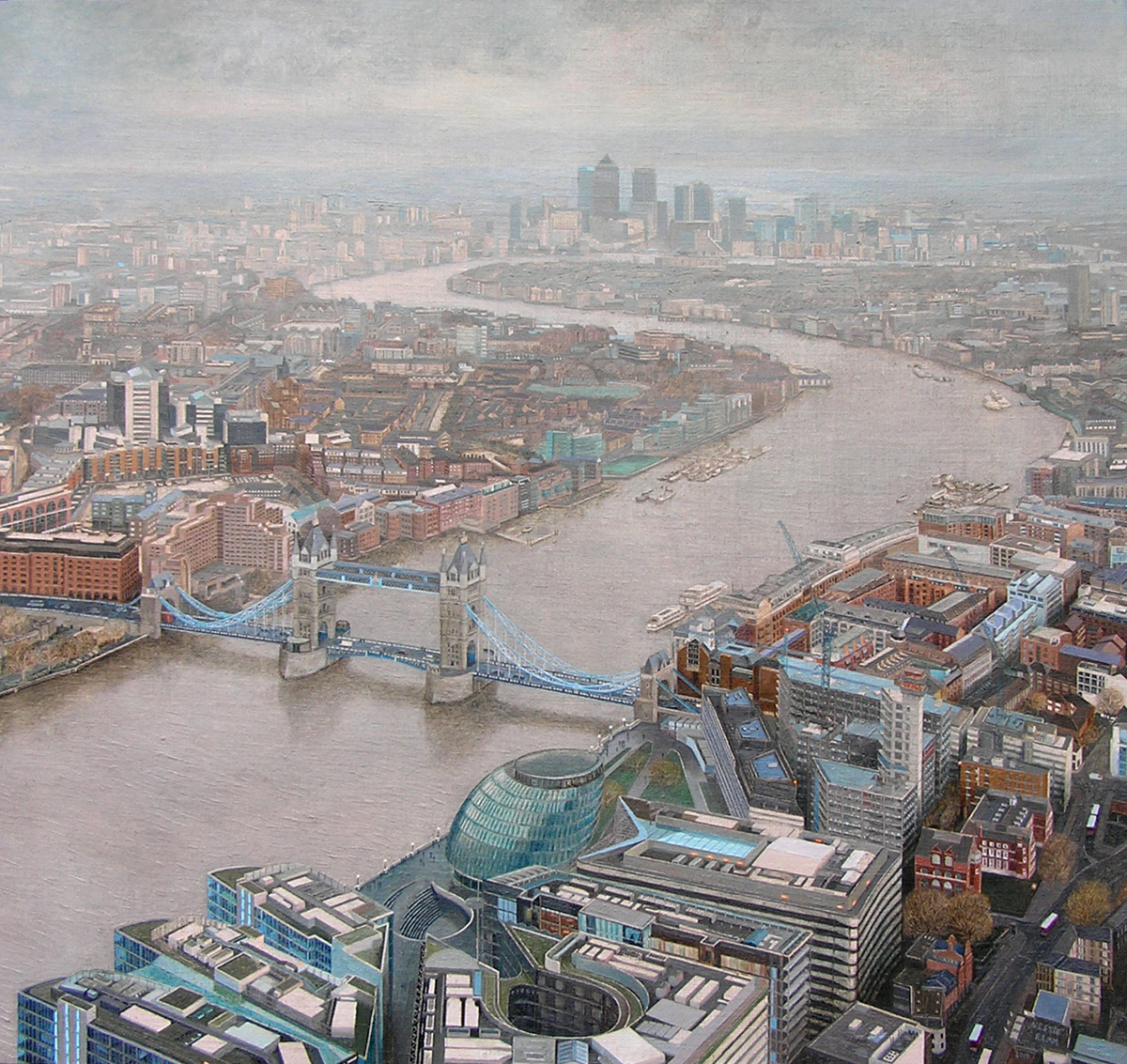 View From The Shard / East (2015) (large view)