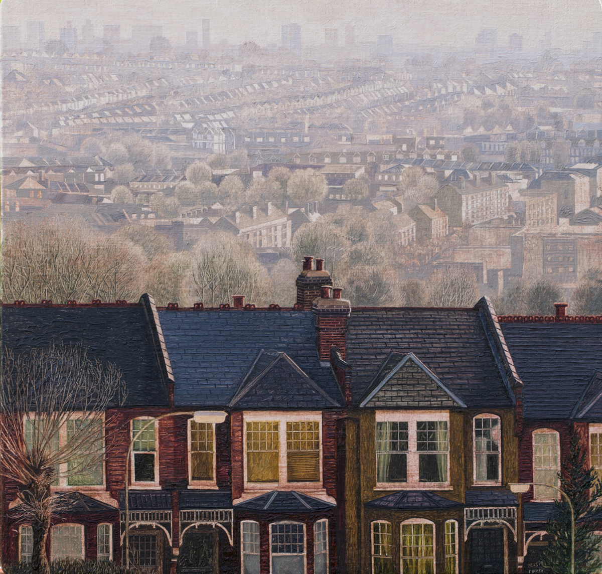 Early Morning, Muswell Hill  (large view)