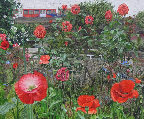 Poppies and Roses at Cable Street (2013)