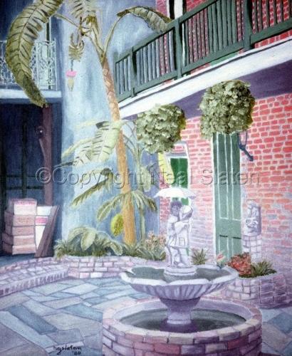 NOLA Courtyard