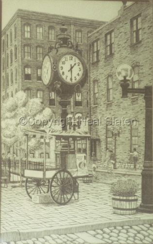 Laclede's Landing Clock