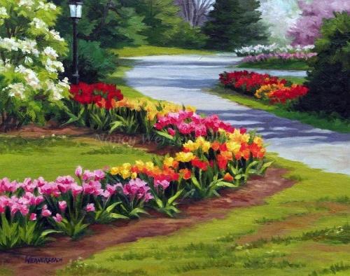 Tulip Time, Clark Gardens